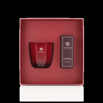 Schachtel Rosso Nobile Kerze 200 g + Handcreme 50 ml