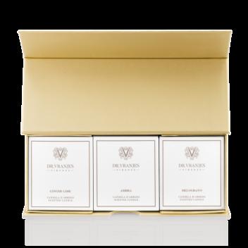 Modulare Geschenkbox - 3 Kerzen mit 80g